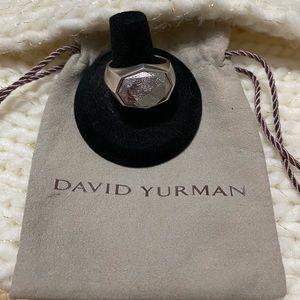 David Yurman Meteorite Signet Ring ☄️🌑💫